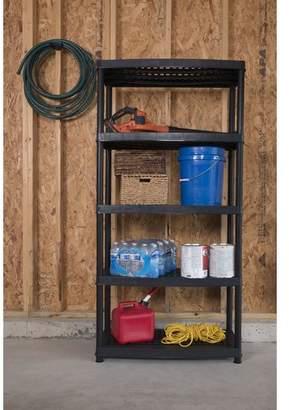 "Keter Utility 72"" H Five Shelf Shelving Rack Unit"