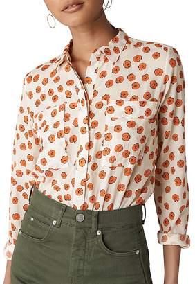 Whistles Mariana Lenno-Print Shirt