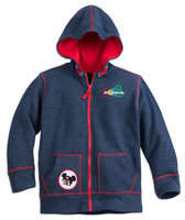 Mickey Mouse and Friends Zip-Up Hoodie for Kids - Disneyland 2018
