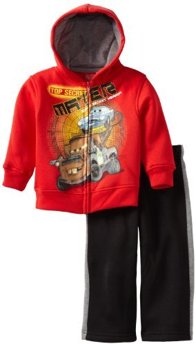 Disney Boys 2-7 Cars 2 Piece Fleece Set