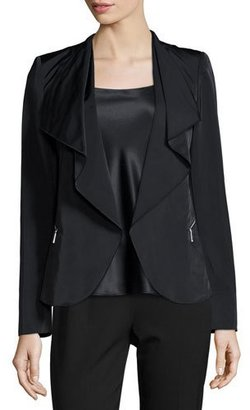 Lafayette 148 New York Camden Ruffled Open Jacket $698 thestylecure.com