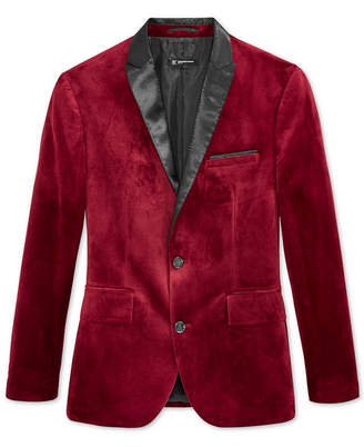 INC International Concepts I.n.c. Men's Slim-Fit Velvet Blazer