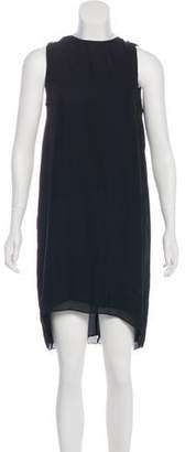 Wes Gordon Silk Midi Dress