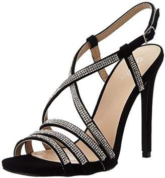 Qupid Women's Diamond 26 Dress Sandal