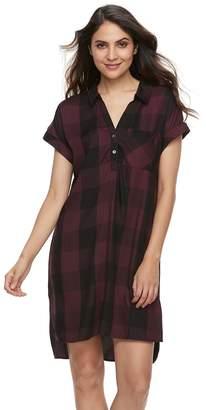 Rock & Republic Women's High-Low Shirtdress
