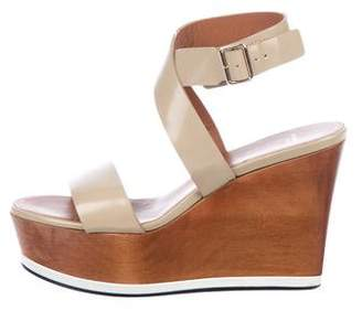 Givenchy Leather Platform Wedges