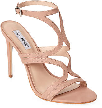 Steve Madden Tan Sidney High Heel Dress Sandals
