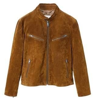 Mango man MANGO MAN Peccary leather jacket