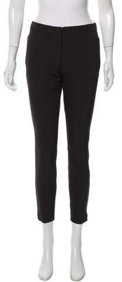 Prada Mid-Rise Skinny-Leg Pants