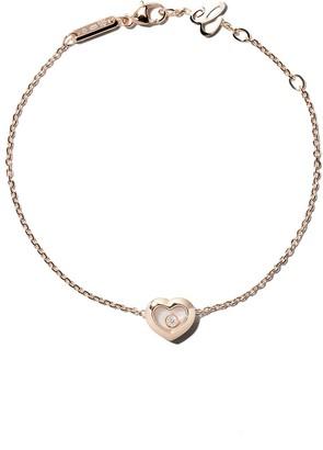 Chopard 18kt rose gold Happy Diamonds Icons bracelet