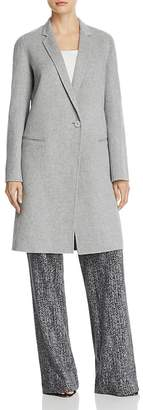 Theory Double-Face Wool and Cashmere Reefer Coat $795 thestylecure.com
