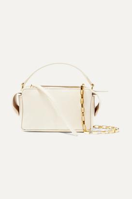 Wandler Yara Box Textured-leather Shoulder Bag