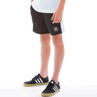 Converse Junior Boys Mesh Shorts Black