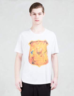 Roen Gold Skull Shield S/S T-Shirt