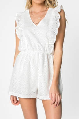 Everly Eyelet Romper