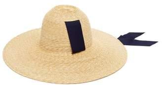 94ce8636a6425 Lola Hats Little Sugarcone Wide Brim Raffia Hat - Womens - Navy