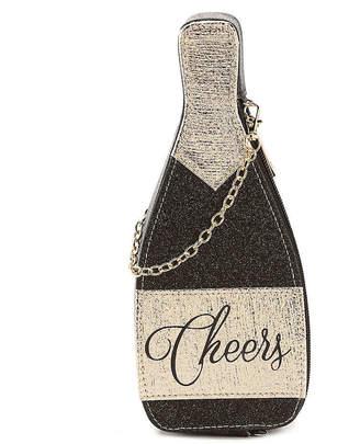 Vie & Rose Champagne Bottle Clutch - Women's