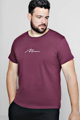 boohoo Big And Tall MAN Signature T-Shirt