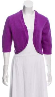 Michael Kors Cashmere Knit Bolero purple Cashmere Knit Bolero