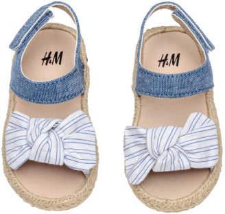 H&M Sandals - Blue
