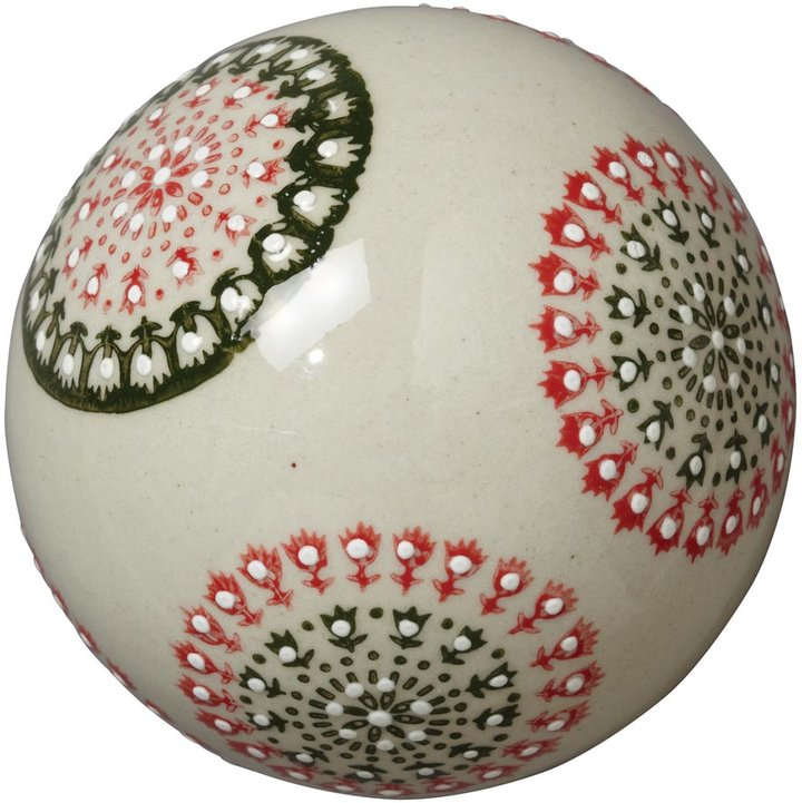 OKA Aina Ceramic Ball, Medium - Beige