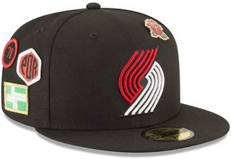 New Era Portland Trail Blazers On-Court Collection 59FIFTY Fitted Cap