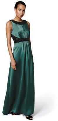Phase Eight Green 'Fiana' Embellished Dress