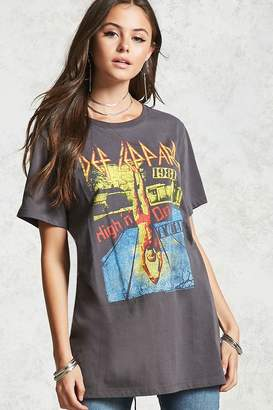 Forever 21 Def Leppard Band Tee