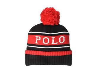 5b64c9b11a6 Ralph Lauren Wool Knit Hat - ShopStyle