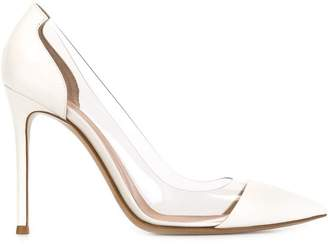 c4bfc9bf0195 Gianvito Rossi White Pumps - ShopStyle