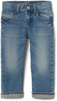 Gap Lined Straight Jeans with Stretch