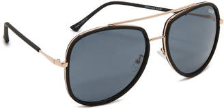 Quay Needing Fame Sunglasses $55 thestylecure.com