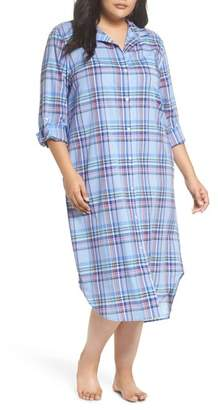 Lauren Ralph Lauren Ballet Plaid Sleep Shirt