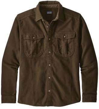 Patagonia Men's Long-Sleeved Topo Canyon Moleskin Shirt