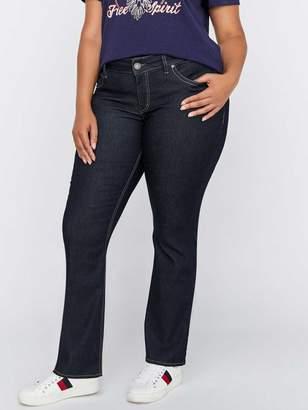 Slim Bootcut Clean Jeans - Silver Suki