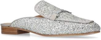 Tory Burch Glitter Amelia Slippers