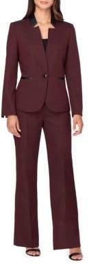 Tahari Arthur S. Levine Starneck Jacket and Suit Set