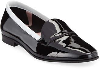 dd18eae57dc Pierre Hardy Jacno Metallic Flat Loafers