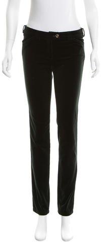 Balenciaga Balenciaga Velvet Skinny Pants