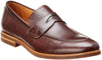 Warfield & Grand Baker Leather Penny Loafer