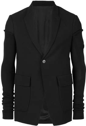 Rick Owens elongated sleeve blazer