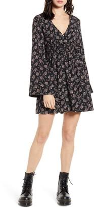 LIRA Holland Long Sleeve Minidress