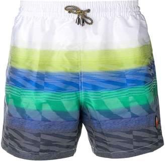 Missoni Mare striped swim shorts