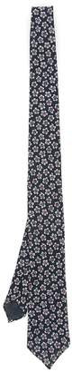 Thomas Mason Soho Tie With Flowers