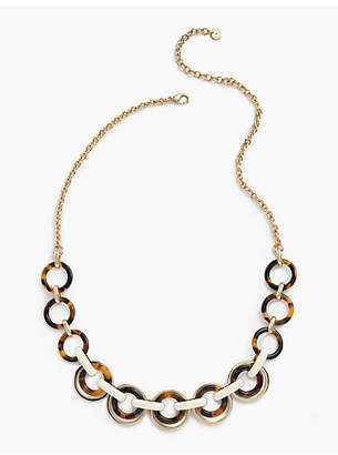 Talbots Long Links Necklace