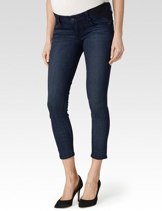 Verdugo Crop Maternity - Valor $189 thestylecure.com