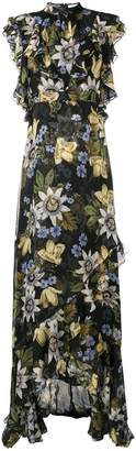 Erdem Riva passion flower-print gown