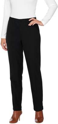 Susan Graver Twill Comfort Waist Pull-On Pants