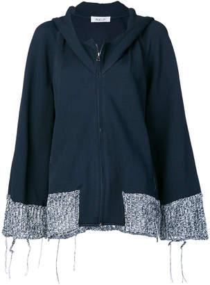 Aviu zipped oversized jacket