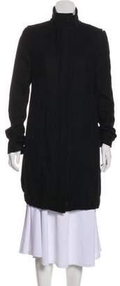 Helmut Lang Long Sleeve Knee-Length Coat